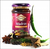 Madras Pikantna pasta curry z kminem i chilli 283g